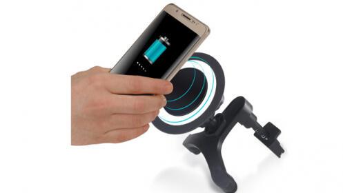 Cargador QI inalámbrico universal para coche
