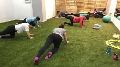 Actividad física para embarazadas o postparto