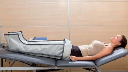 Sesiones de presoterapia y envoltura
