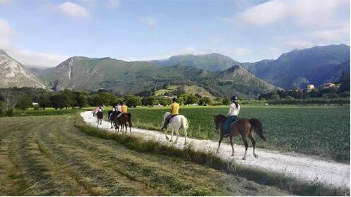 Ruta de 3 horas a caballo por Ribadesella