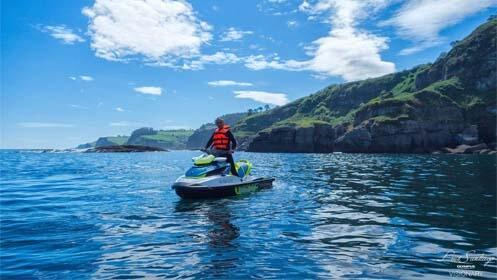 Ruta en moto de agua con opción a paddle surf