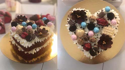 Postres para enamorar: elige caja de 6 cupcakes o tarta Red Velvet