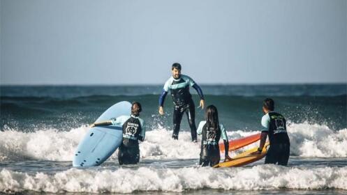 Cursos surf con opción a alojamiento