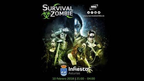Entrada para el Survival Zombie en Infiesto